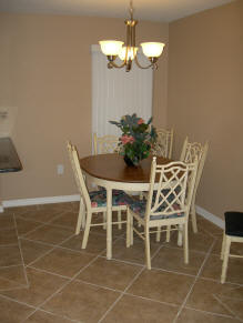 Bay Oaks Condo Dining Room
